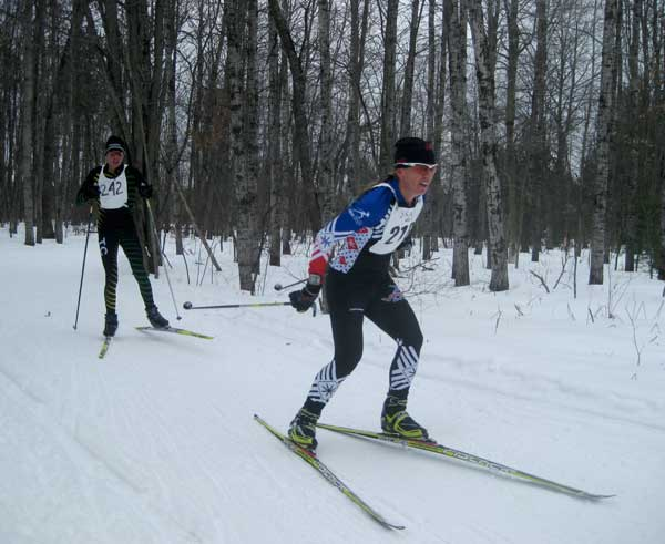2016 Michigan Cup Relays cross country ski race