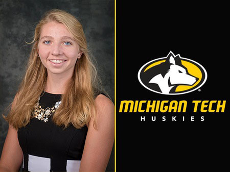 Amanda Kautzer of the Michigan Tech Nordic Ski team will represent the United States at the Youth World Championships.