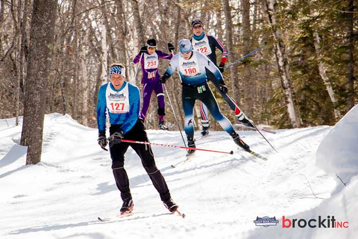 2017 Great Bear Chase cross country ski race