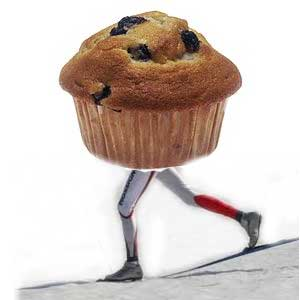 The Muffin Race is this SUNDAY (not Saturday)