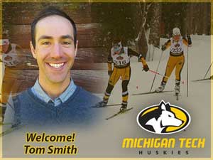 Tom Smith named Head Nordic Ski Coach at Michigan Tech