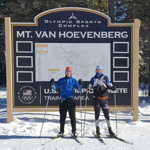 Michigan Cup Skiers Compete in Lake Placid Loppet