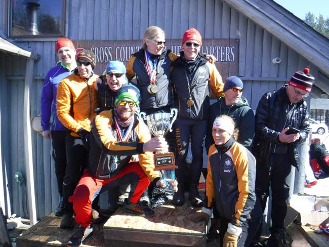 Hanson Hills - Cross Country Ski Shop are 2018 Champions of the Brumbaugh Cup