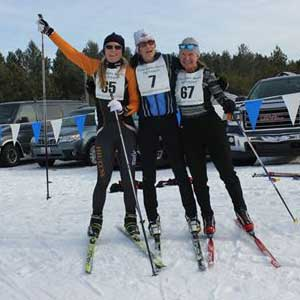 RESULTS: Vanias and Darnton win relocated Cote Dame Marie Loppet