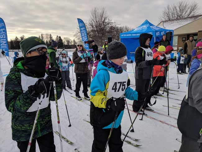 Frosty Kids XC Race