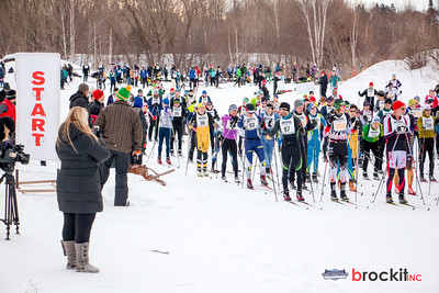 Great Bear Chase xc ski race