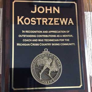 Michigan Cup Honors Coach John Kostrzewa