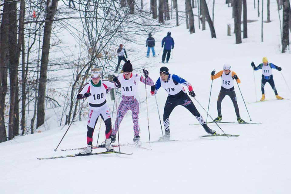 King of the Hill cross country ski race