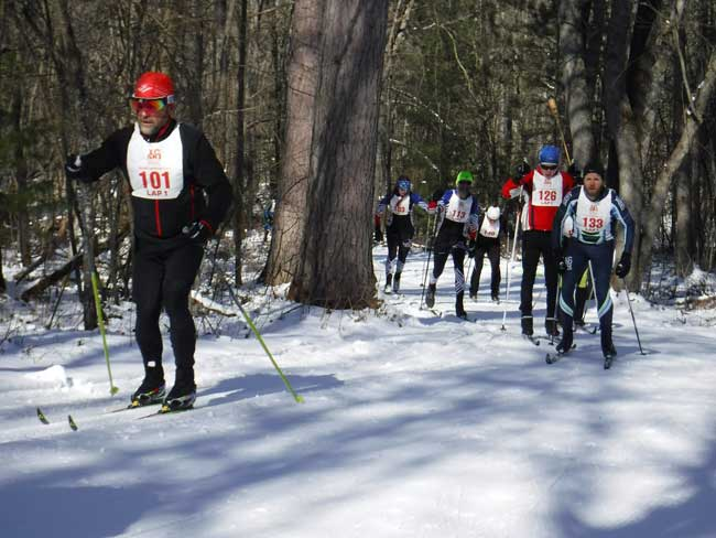 2018 Michigan Cup Relays cross country ski race