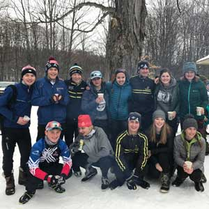 Crystal Community Ski Club host 2k junior race