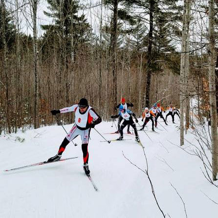 Forbush Freestyle cross country ski race. Photo by Sista Stash.