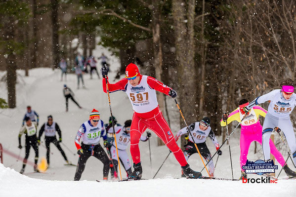 Great Bear Chase cross country ski race