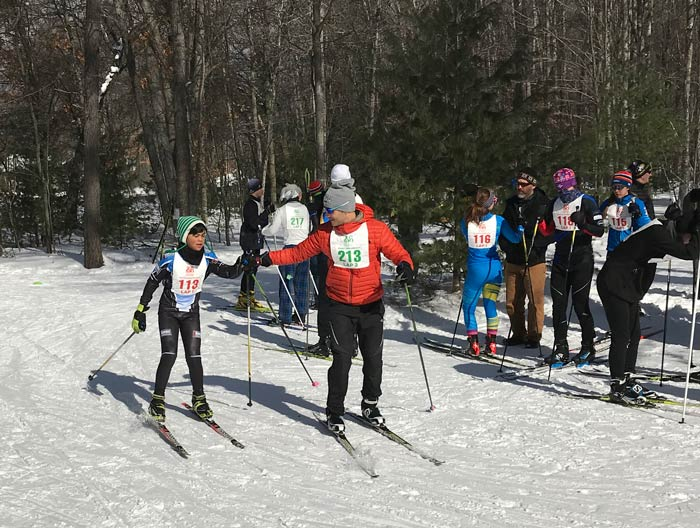 2019 Muffin Race, unior cross country ski race