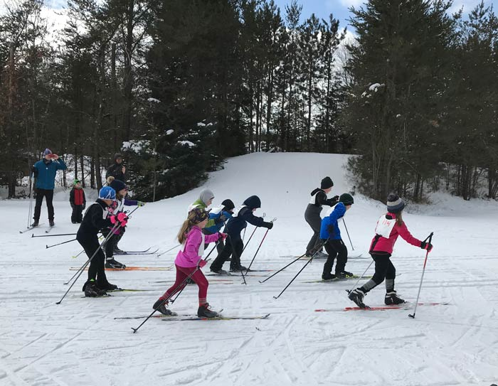 2019 Muffin kids cross country ski race