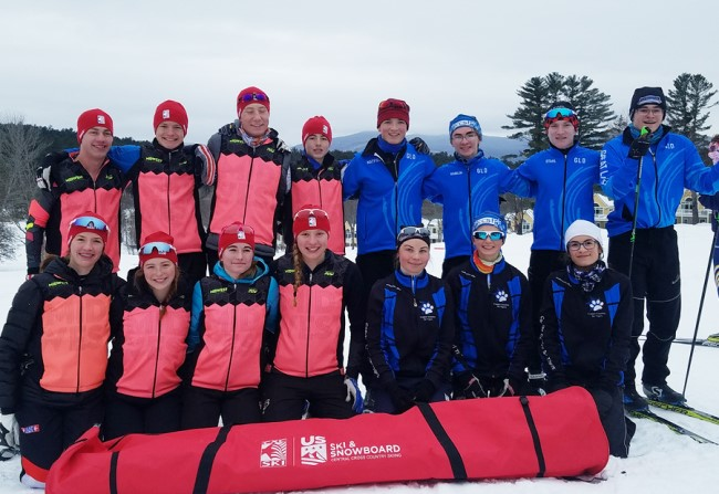 Spring 2019 Junior cross country ski racing trips for CXC Skiing