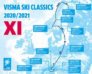 Visma Ski Classics delays season start because of COVID-19