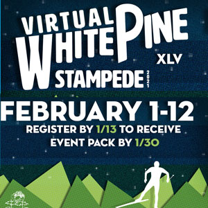 Virtual White Pine Stampede registration is open