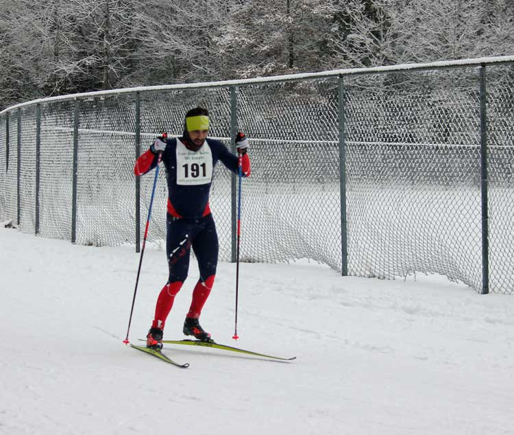 Cote Dame Marie Ski Loppet, overall winner Kevin Tarras