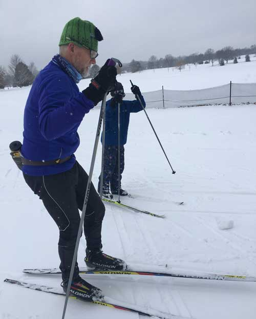 Team NordicSkiRacer Junior cross country ski club skiers