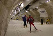 Cross Country Ski Tunnel in Vuokatti, Finland