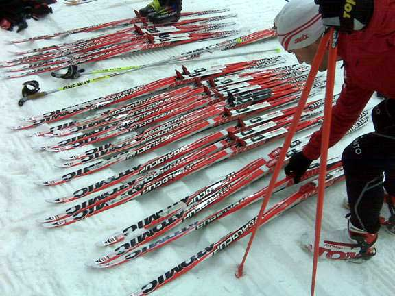 Atomic cross country ski selection