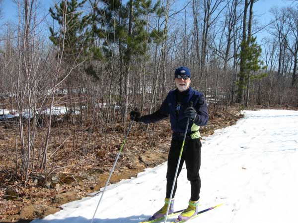 Cross Country Skiiing at Black Mountain