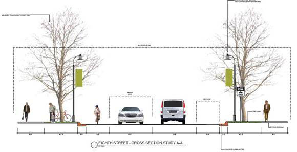 8th Street plan in Traverse City