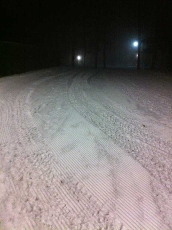 Timber Ridge cross country ski trails