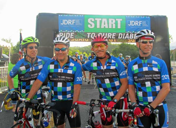 JDRF Ride to Cure Diabetes in Burlington Vermont