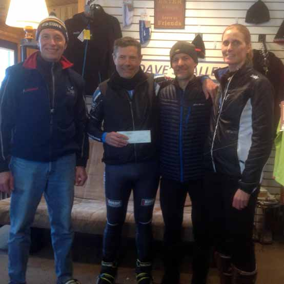 Forbush Corner donates to Continental Divide Thru-Hike