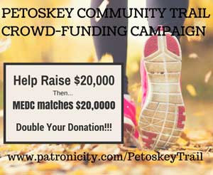 Petoskey asking for donations to build community trail