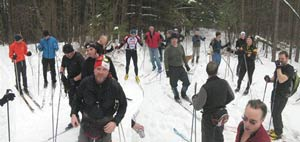 Stinchfield Loppet - a gloriously fun ski tour
