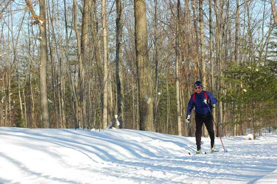 Ted cross country ski tour on Vasa weekend