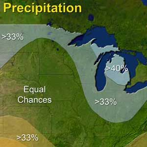 NOAA Winter Outlook predicts cooler, wetter Michigan