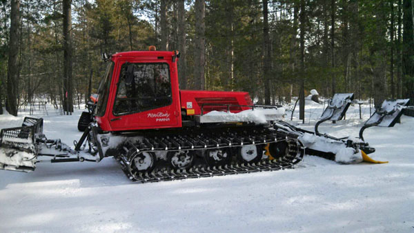 The open house will give the public an opportunity to talk to grooming staff and view grooming equipment, such as the pictured Piston Bully groomer.