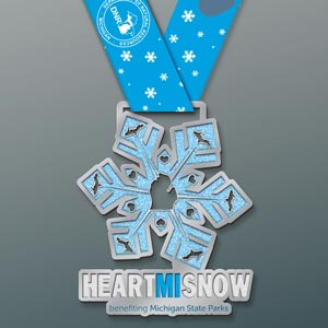 HeartMISnow Virtual 5K to benefit Michigan state parks