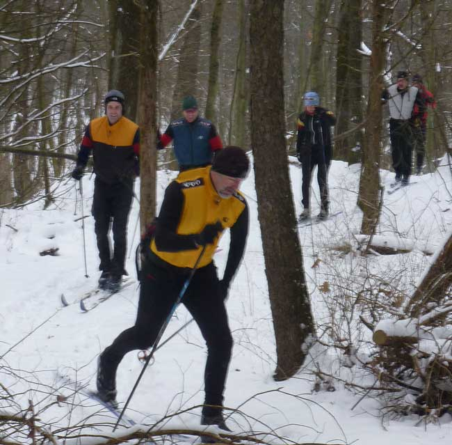 Poto Raid cross country ski race