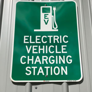 Headquarters goes eco with EV chargers, LED lights, carbon offsets