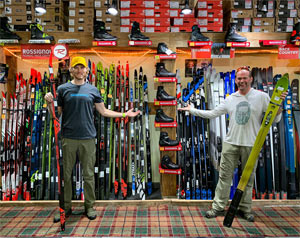 The Cross Country Ski Shop at Northbound Outfitters is fully stocked!