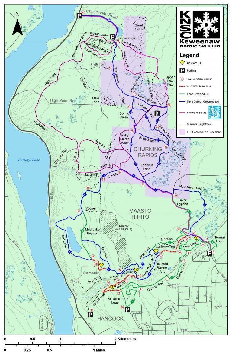 Maasto Hiihto - Churning RapidsTrails
