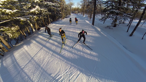 Michigan Tech Ski Trails