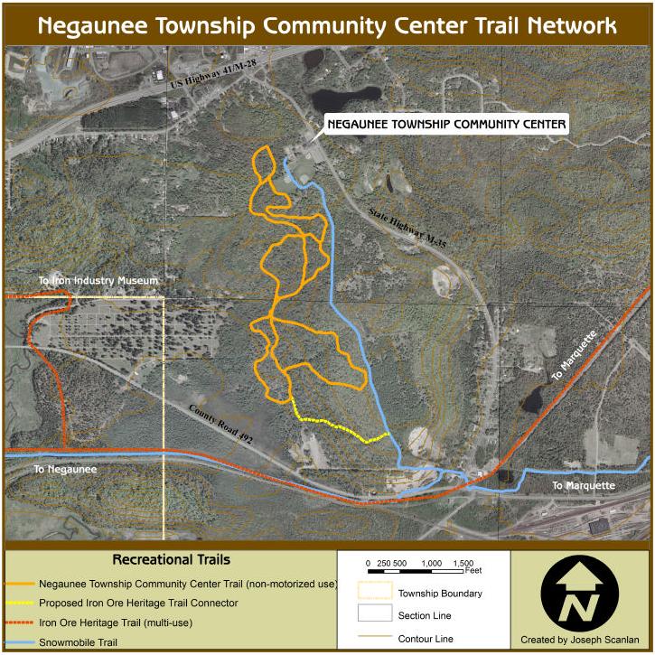 Negaunee Township Ski Trails