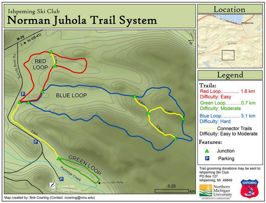 Norman-Juhola Trails (aka Suicide Bowl Trails)