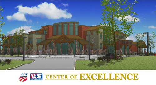USSA Center for Excellence in park City