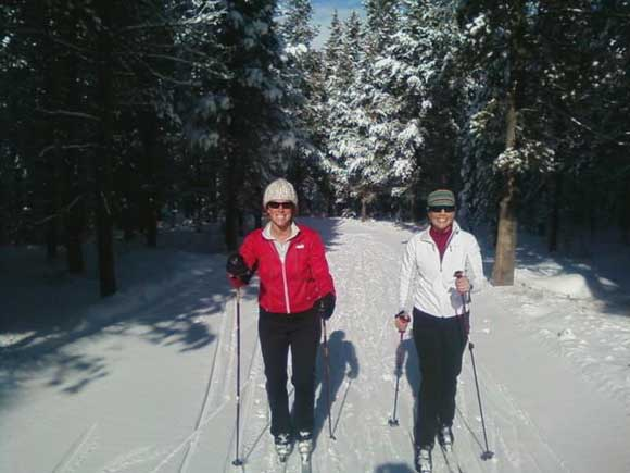 Cross Country Skiing in West Yellowstone