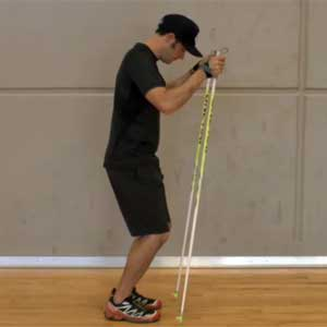 Better double-poling with supple ankles