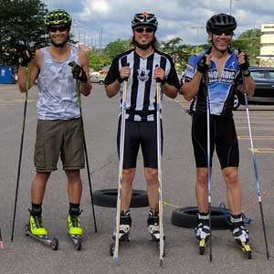 Two rollerski clinics over Labor Day Weekend