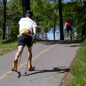 Rollerski clinic in Livonia, MI this Saturday, July 15