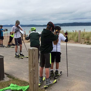 Junior rollerski camp, August 1-3