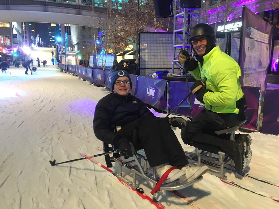 Adaptive Nordic and Biathlon events for children